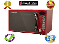 ***NEW***Russell Hobbs RHM1714RC 17 Litre Heritage Red Digital Microwave 700W