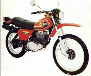 Early Honda XL 500