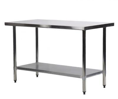 Купить FDW FDW-WT2448 - 24 x 48 Stainless Steel Kitchen Work Table Commercial Restaurant Table 2448