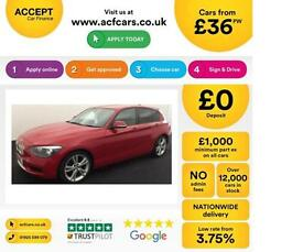 BMW 118 2.0TD auto 2012MY d Urban FROM £36 PER WEEK!