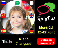 Festival des langues de Montréal 2017