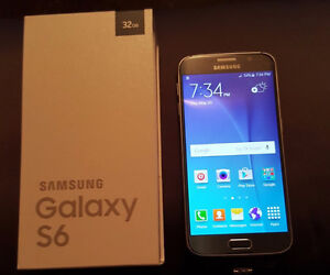 Brand new Galaxy S6 32 gig on bell never been on service   600 f