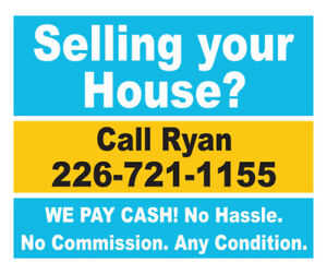 Selling your House can be a HASSLE!.. We can Help