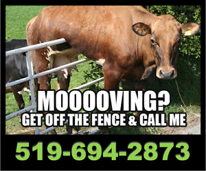 THINKING OF MOOOOVING?  Get off the fence...