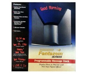 Fantazein To Make Visible - Programmable Message Clock Windsor Region Ontario image 1