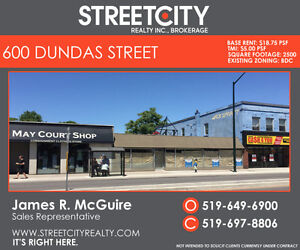 Dundas & Adelaide Prime Retail / Restaurant Available