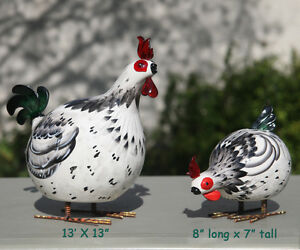 2 Ceramic Roosters both for $30