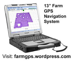 Farming GPS navigation 13 inch system - complete & ready to use