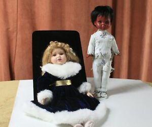 Authentic Sabrina Carrera Doll & Regal Toy Ltd Native Doll