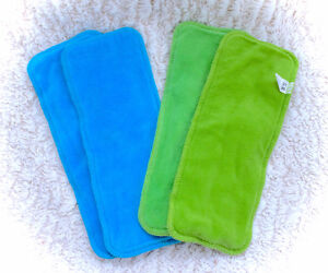 4 High Quality Ultra Absorbant New Cloth Diaper Inserts Liners