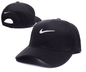 0f50676fdd0 Nike Baseball Hat Cap Black White Brand New Unisex One Size Adults Free PP  SALE