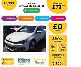 Volkswagen Scirocco 2.0TDI ( 150ps ) ( BMT ) 2015MY FROM £72 PER WEEK