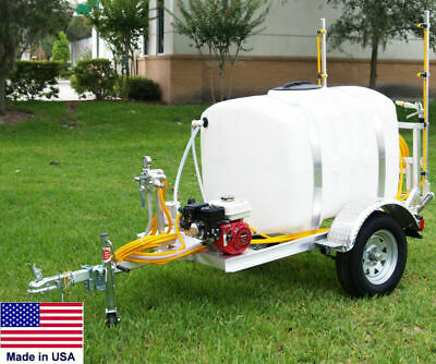 Sprayer Commercial - Trailer Mounted - 12 Ft Boom - 200 Gallon - Highway Ready