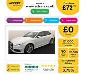 Audi A3 FROM £72 PER WEEK!