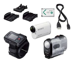 NEW Sony HDR-AS200VR Action Cam with Live View Remote Bundle