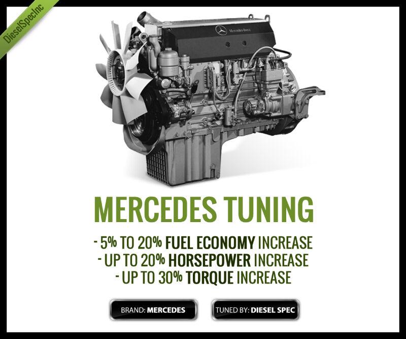 Mercedes MBE-900 EGR-DPF Delete