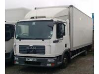 2007/57 MAN/ ERF TGL 7.5 TONNE BOX