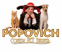 Popovich Pet Comedy Theater in Montreal