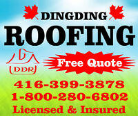 Need eavestrough cleaning Call Dingding Roofing Ltd.416-399-3878
