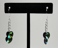 Swarovski Earring (Vitrail Medium)-Hand Made