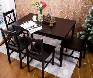 *BRAND NEW in BOX* TABLE ONLY Dennie Solid Wood Dining  by Winst