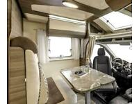 Rimor Evo 77 Rear Lounge Drop Down Double Bed