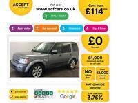 Land Rover Discovery 4 FROM £114 PER WEEK!