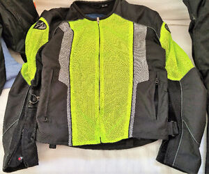 Joe Rocket Phoenix 5.0 Jacket Neon/Black Medium