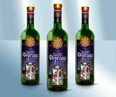 """Weisswein """"Fergana"""" Süß 12% 750ml Вино """"Фергана"""" белое сладкое 12% Узбекистан"""