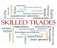 # Are you a skilled tradesperson that is looking for more work?