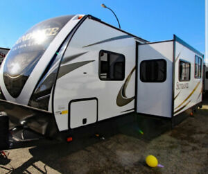 Family of 3 ISO RV Pad Rental