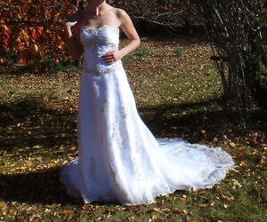 Brand new wedding gown in size 12