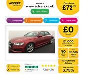 Audi A6 Saloon 2.0TDI ( 177ps ) ( C7 ) 2012MY S Line FROM £72 PER WEEK !