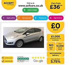 Ford Fiesta 1.0 ( 80ps ) ( s/s ) 2014.5MY Titanium FROM £36 PER WEEK!