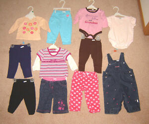 Girls Clothes, Sleepers  - sz 6, 6-9, 6-12, 12, 12-18 months