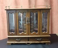 Lovely Large Wooden Jewelry box  Great Condition