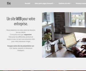 Conception de site web professionnel