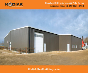Kodiak Steel Buildings - Garages, Workshop, Storage - Leamington