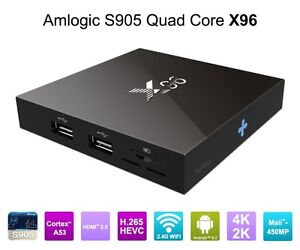 Brand new X96 Android TV Box w/ Kodi fully loaded
