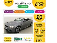 BMW M3 FROM £124 PER WEEK!