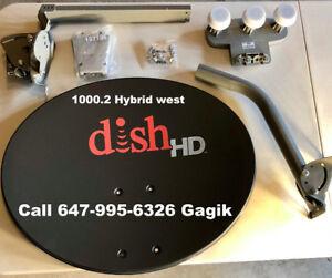 Directv*Dish Network*Bell TV*Shaw Direct*HD OTA Antenna*CAT 6