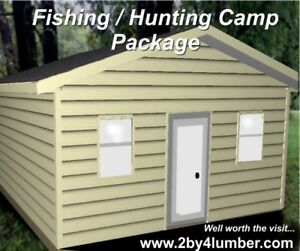 Hunting / Fishing Camp Package mi
