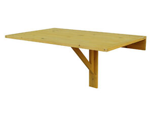 WALL MOUNTED DROP LEAF TABLE, CEDAR, YARD, GARAGE, PATIO