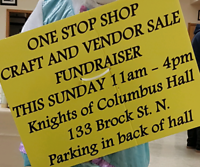 One stop shop fundraiser