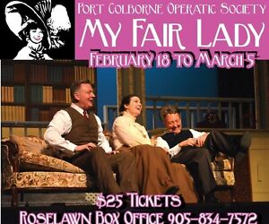 MY FAIR LADY - FINAL WEEKEND - CALL AND ORDER YOUR TICKETS
