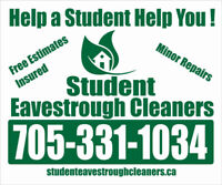 Students Will Clean Out Your Eavestroughs