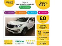 Kia Sportage FROM £72 PER WEEK!