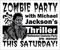 Thriller Michael Jackson ZOMBIE PARTY