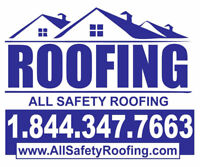Quality Roof Repair & Replacement Fully Insured and WSIB