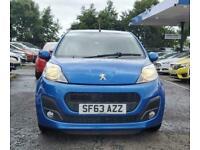 2013 Peugeot 107 1.0 ACTIVE 5d 68 BHP Hatchback Petrol Semi Automatic